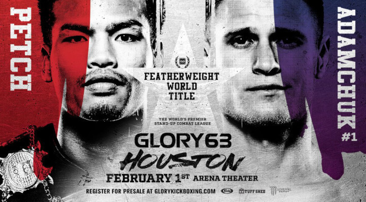 Featherweight Title Tilt Tops Texas Fight Card from Houston's Arena Theatre on Friday, Feb. 1