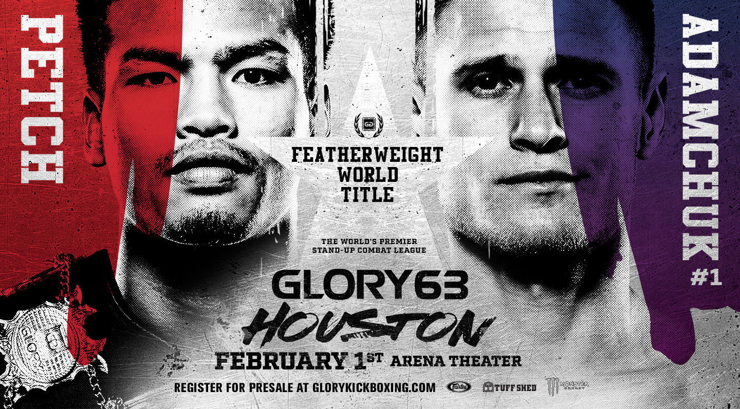 Glory 63 Houston Glory Kickboxing