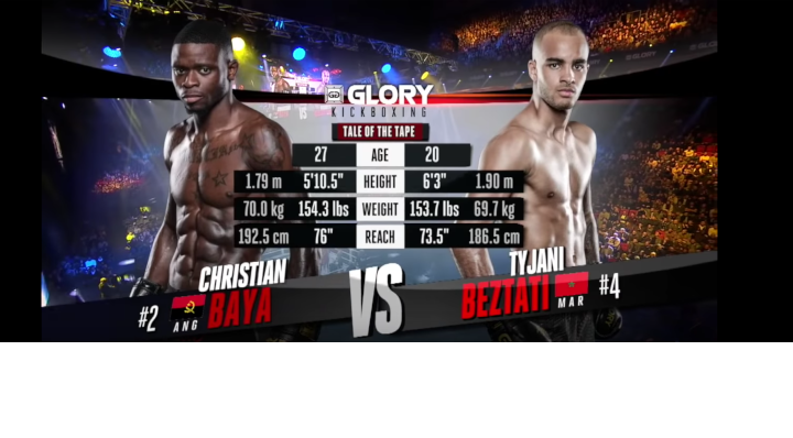 GLORY 59: Chris Baya vs. Tyjani Beztati - Full Fight