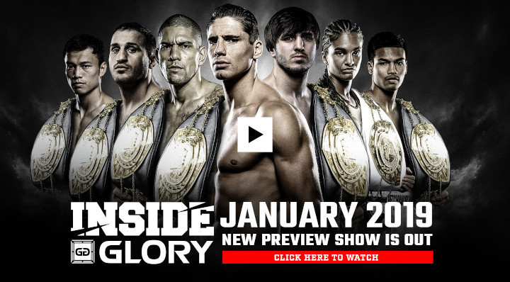Inside GLORY - January 2019