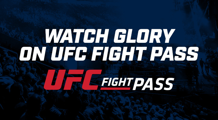 UFC FIGHT PASS AND GLORY REACH GROUND-BREAKING DEAL