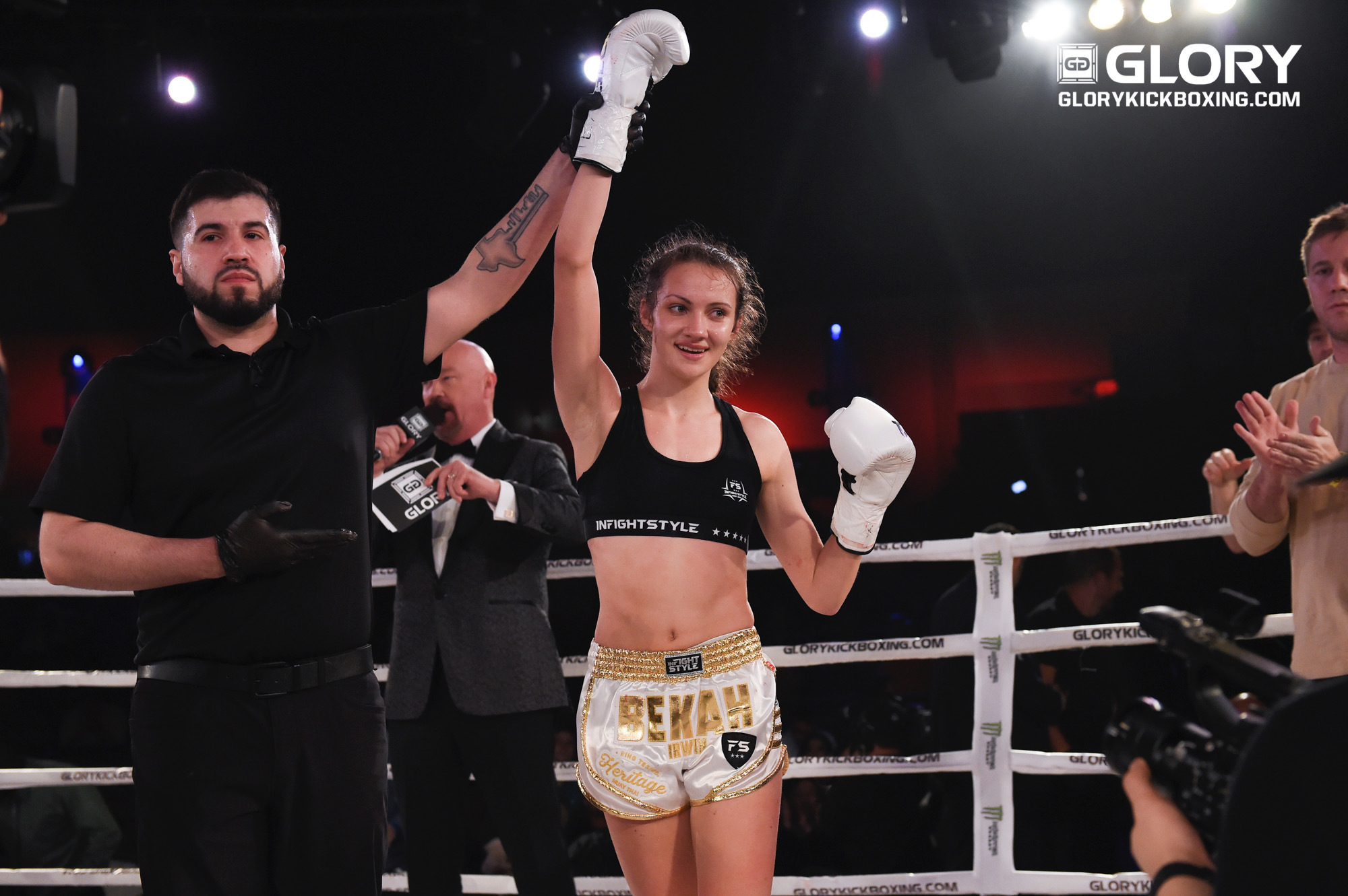 GLORY 63: Bekah Irwin Post Fight Interview