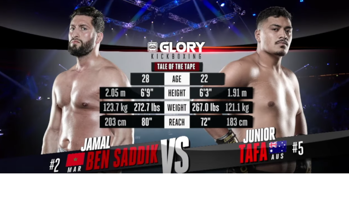 GLORY 62: Jamal Ben Saddik vs. Junior Tafa (Tournament Quarter-Final) - Full Fight