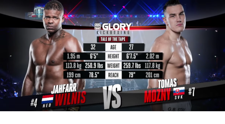 GLORY 62: Jahfarr Wilnis vs Tomas Mozny (Tournament Quarter-Final) - Full Fight