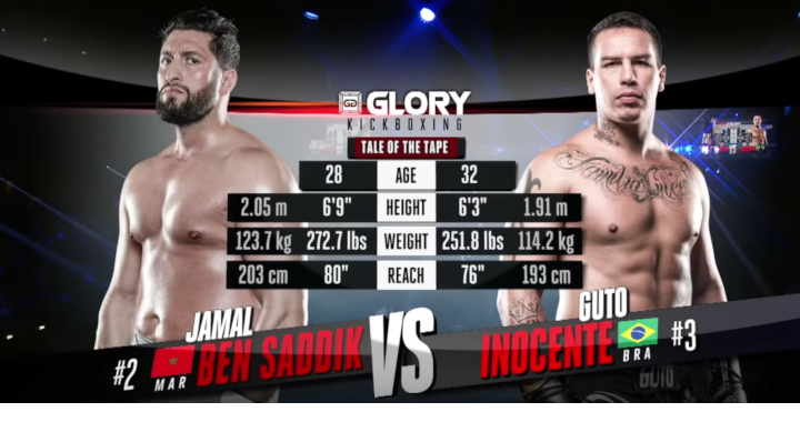 GLORY 62: Jamal Ben Saddik vs Guto Inocente (Tournament Semi-Final) - Full Fight