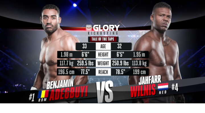 *FIGHT OF THE YEAR - GLORY 62: Benjamin Adegbuyi vs Jahfarr Wilnis (Tournament Semi-Final)