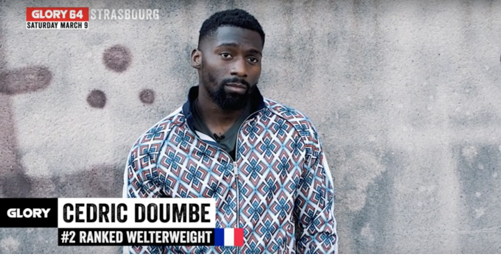 GLORY 64: Cedric Doumbe - I am the real champ.