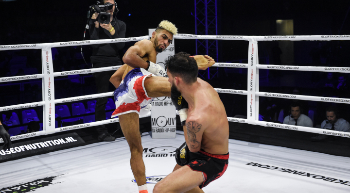 GLORY 64 Preliminary Card Recap: Palandre edges Billet, newcomers Moussaddak and Traoré impress