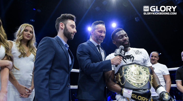 GLORY 64: Cedric Doumbe Post Fight Interview