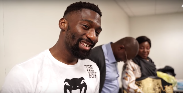 Cedric Doumbé explains why he ran out of the ring at GLORY 64