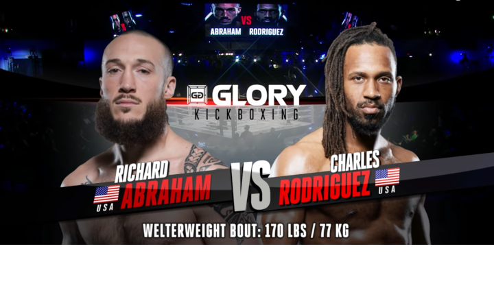 GLORY 63: Richard Abraham vs Charles Rodriguez - Full Fight