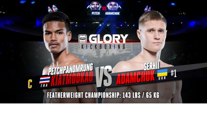 GLORY 63: Petchpanomrung vs Serhii Adamchuk (Featherweight Championship Bout) - Full Fight
