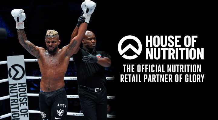 GLORY names House of Nutrition as Official Nutrition Retail Partner