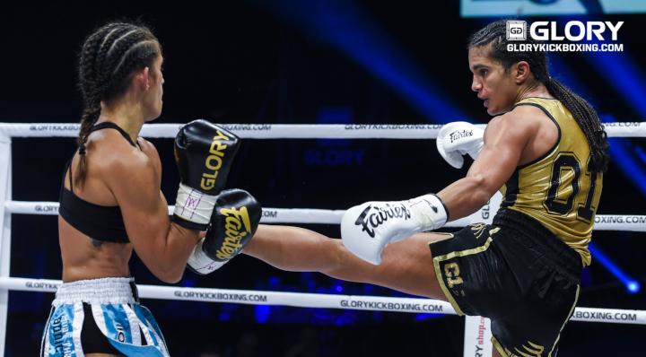 GLORY 64: Anissa Meksen vs. Tiffany Van Soest (Super Bantamweight Title Fight) - Full Fight
