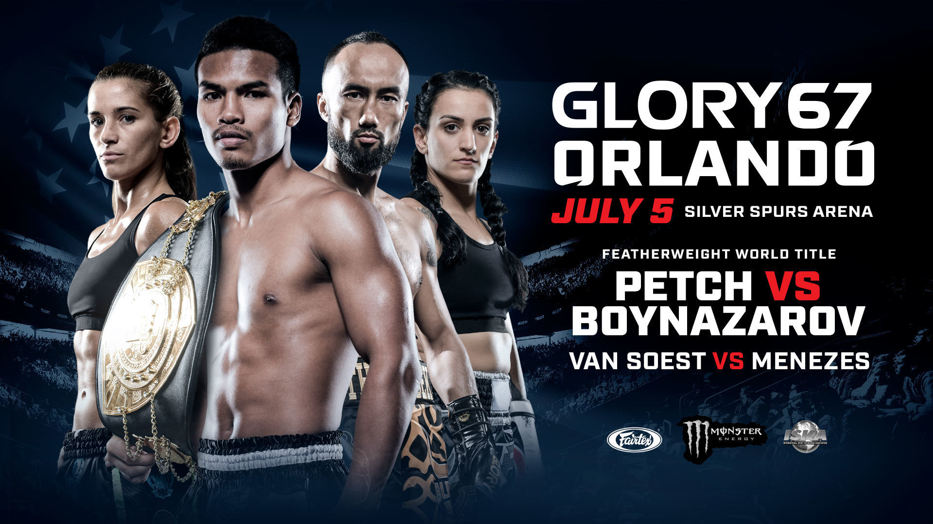 Media accreditation for GLORY 67 ORLANDO underway