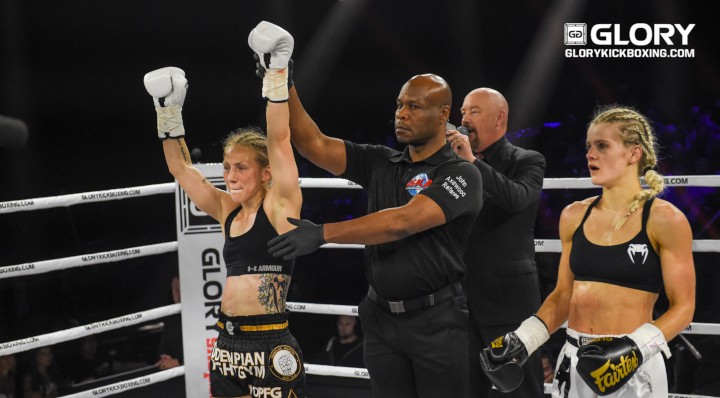 GLORY 65: Sofia Olofsson Post-Fight Interview