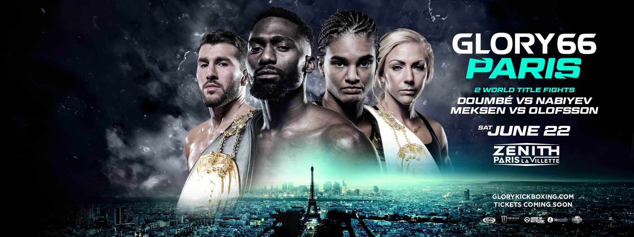 GLORY 66 Paris