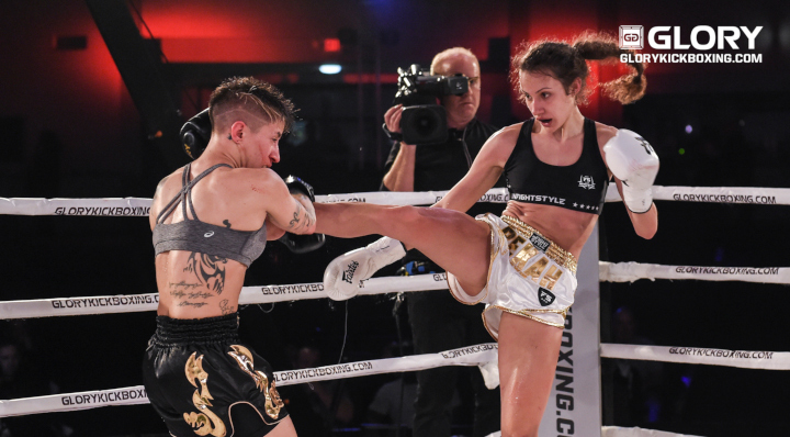 Teen prodigy Bekah Irwin set to make second GLORY appearance