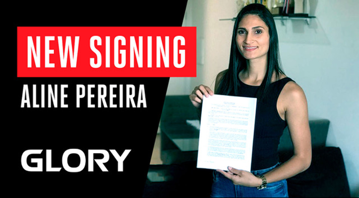 Family Business: Aline Pereira signs with GLORY