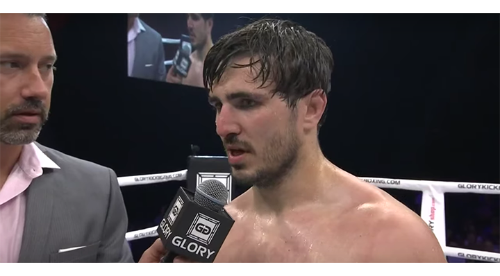 GLORY 66: Artem Vakhitov Post-Fight Interview