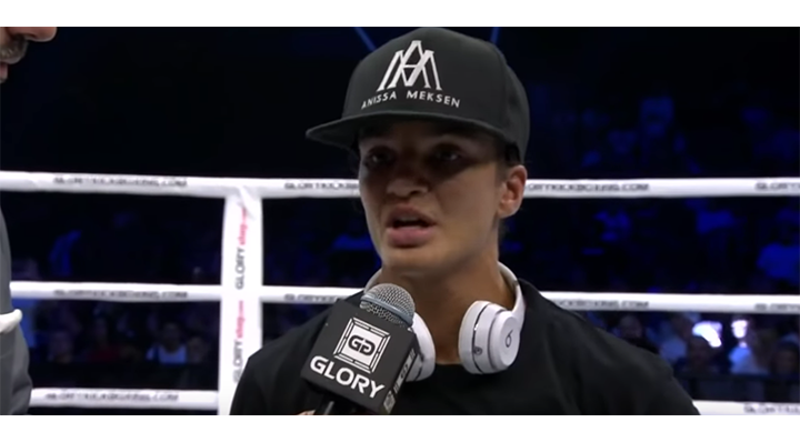 GLORY 66: Anissa Meksen Post-Fight Interview