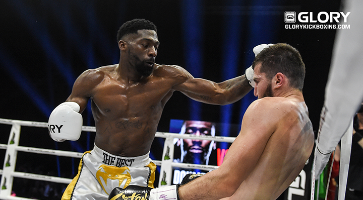 Doumbé crushes Nabiyev to retain welterweight championship