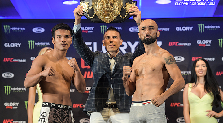 Champ and challenger on weight for GLORY 67 ORLANDO title clash