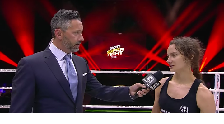 GLORY 67: Bekah Irwin Post-Fight Interview