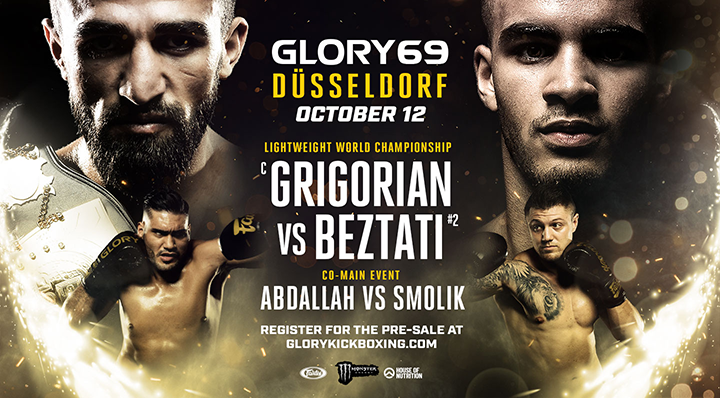 GRUDGE MATCH AND WORLD TITLE FIGHT HEADLINE GLORY 69 DÜSSELDORF