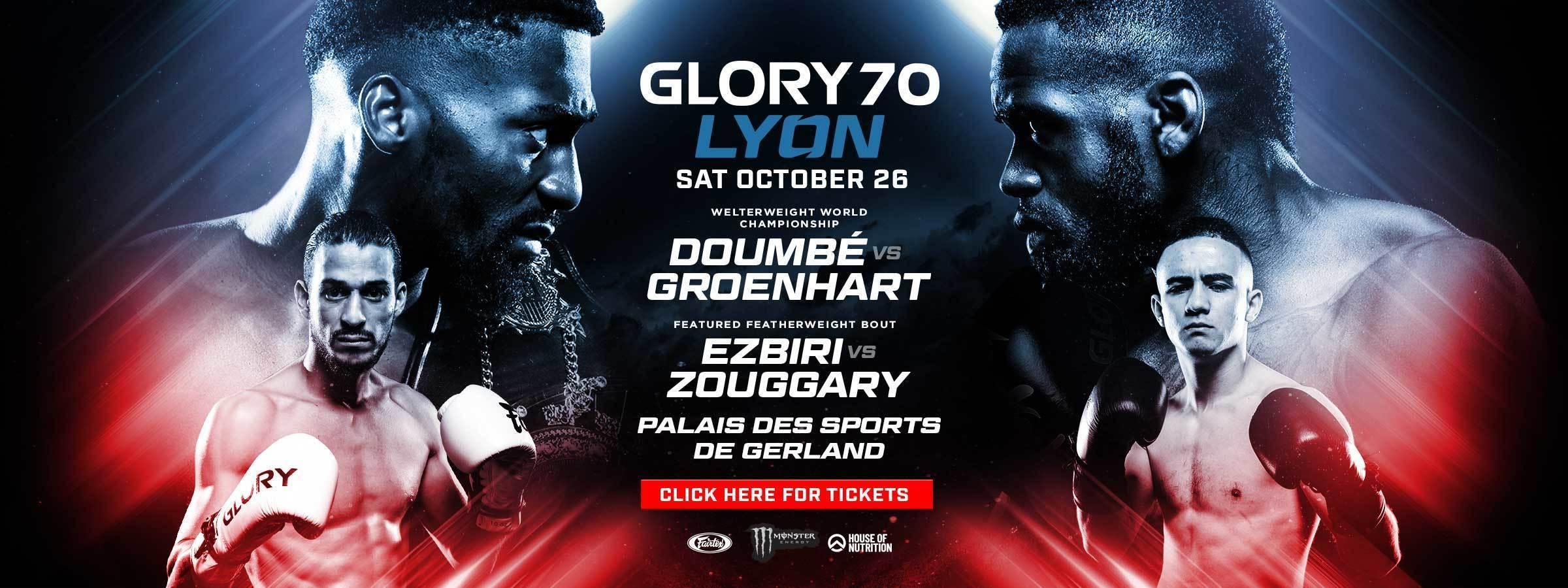 GLORY 70 Buy Tickets