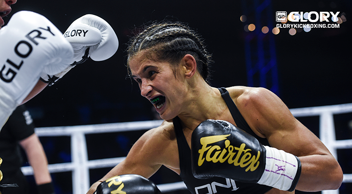 GLORY 68: Tiffany van Soest prepares for Jady Menezes