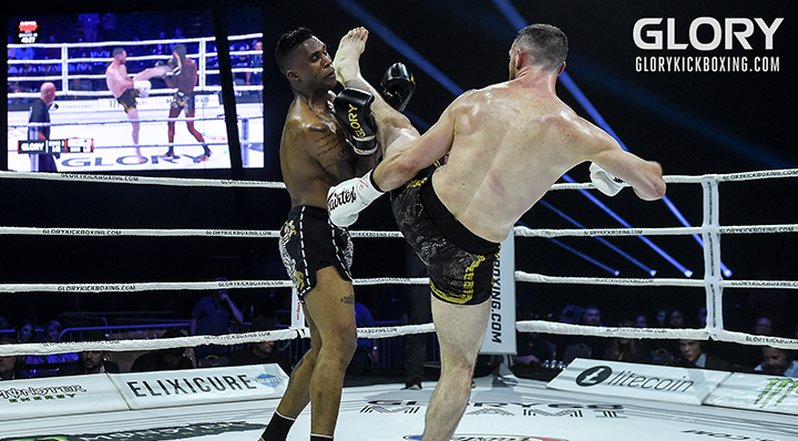 GLORY 68 Preliminary Card Recap: Chasteen and Levine emerge victorious