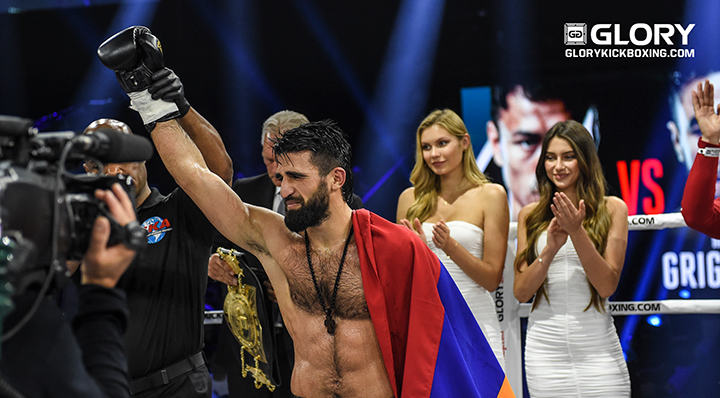 GLORY 69: Marat Grigorian begins his reign over the lightweight throne
