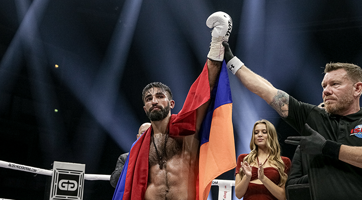 Grigorian batters Beztati, successfully defends lightweight title