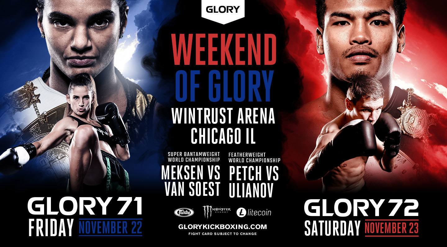 GLORY 72 Chicago
