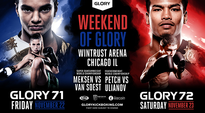 Two events, two days, one city: Chicago set for 'Weekend of GLORY' in November