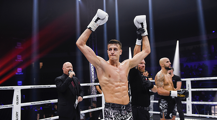 Peňáz earns third straight stoppage win in GLORY