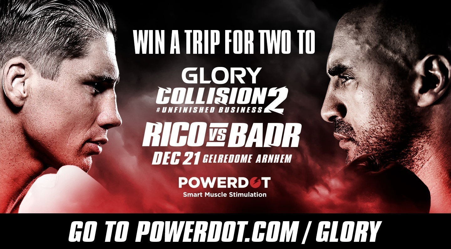 WIN! A trip for two to GLORY: COLLISION 2