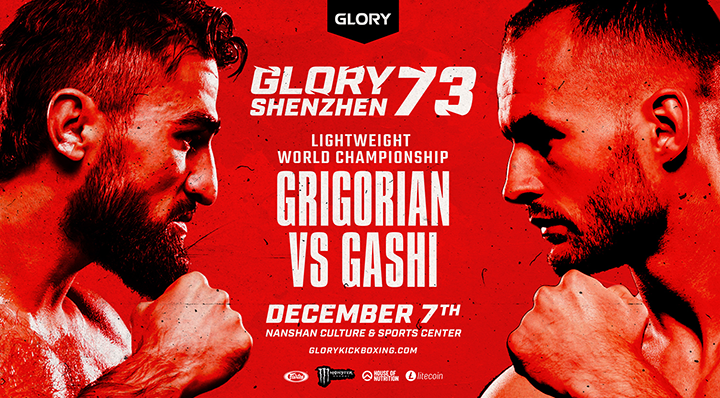 ELEVEN BOUTS CONFIRMED FOR GLORY 73 SHENZHEN