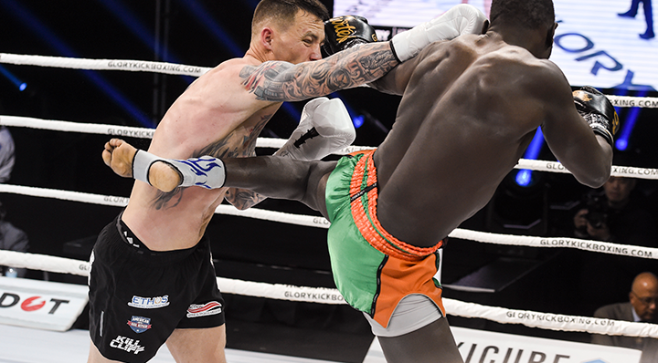 Moss edges Kuchlong on GLORY 71 Prelims