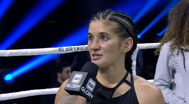 GLORY 71: Tiffany van Soest post-fight interview