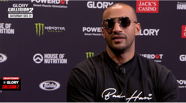 COLLISION 2: Badr Hari pre-fight interview