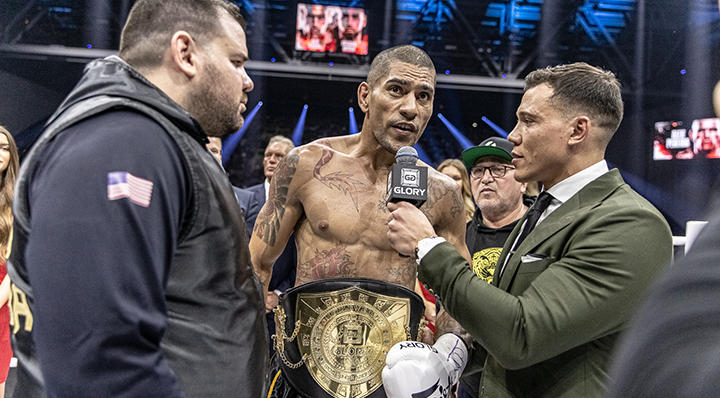 GLORY 74: Alex Pereira post-fight interview
