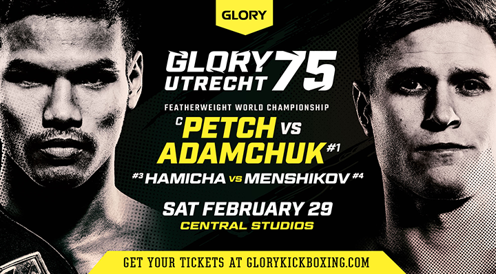 Two former champions added to GLORY 75 line-up