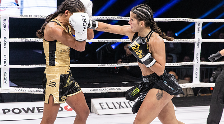 GLORY 71: Anissa Meksen vs. Tiffany van Soest (Super Bantamweight Title Bout) - Full Fight