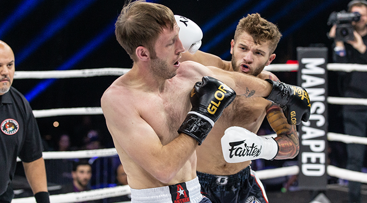 GLORY 72: Bailey Sugden vs. John Morehouse - Full Fight