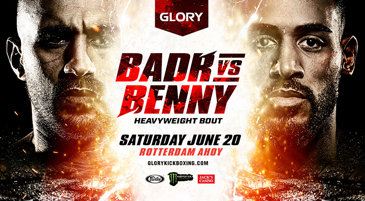 Badr Hari will face Benjamin Adegbuyi on June 20th in Rotterdam