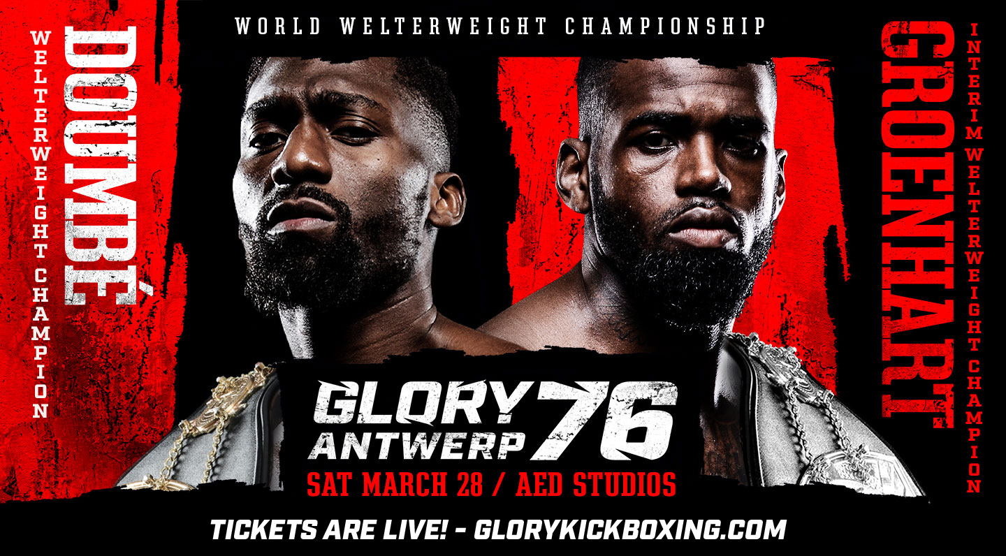 Seven New Fights Added to GLORY 76 Antwerp