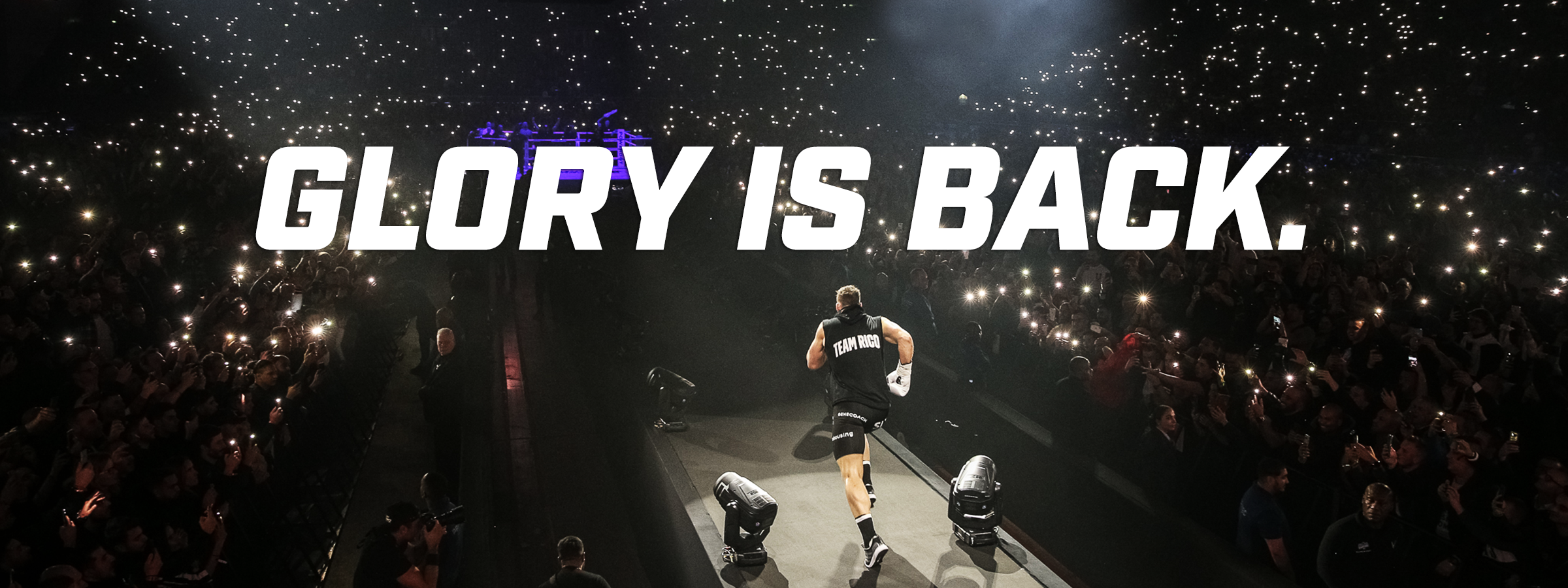 GLORY IS BACK HERO