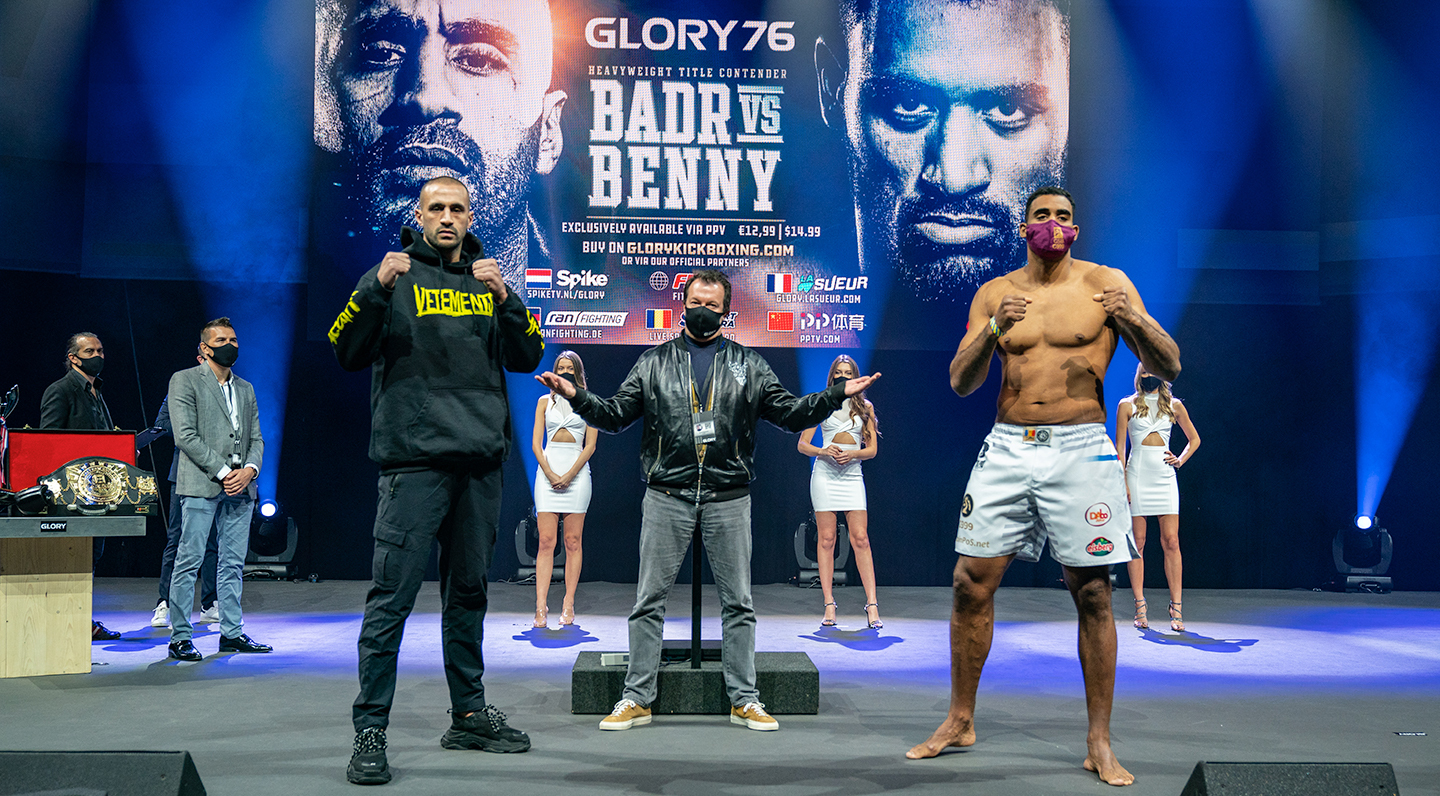 GLORY 76 Weigh-ins: All GLORY fighters ready